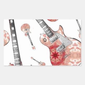 Electric Guitar 13 jpg Rectangular Stickers