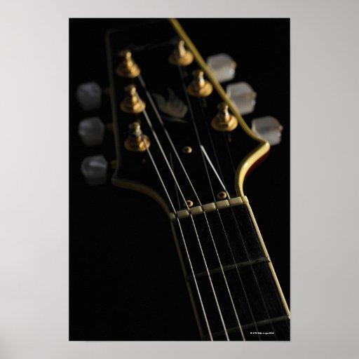 Electric Guitar 4 Print