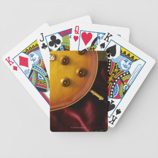 Electric Guitar 6 Bicycle Playing Cards