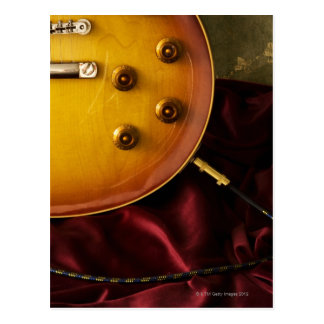 Electric Guitar 6 Post Card