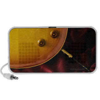 Electric Guitar 6 Mp3 Speaker