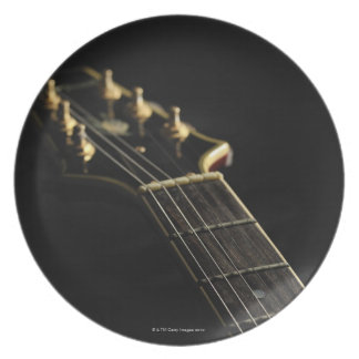 Electric Guitar 7 Dinner Plates