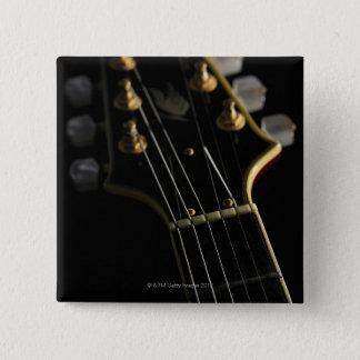 Electric Guitar 8 15 Cm Square Badge