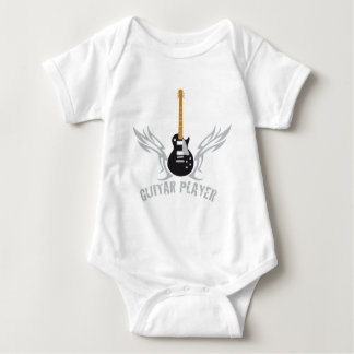 Electric guitar baby bodysuit