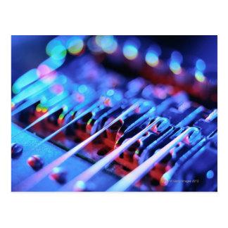 Electric Guitar Bridge Postcard