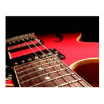 Electric Guitar Close Up - Original Red