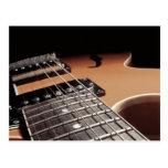 Electric Guitar Close Up - Vintage Brown