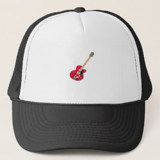 """Electric Guitar"" design gifts and products Trucker Hat"