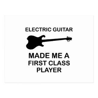 electric guitar Design Postcard