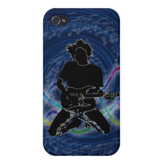 electric guitar Groovy Pern 4 casing Cases For iPhone 4
