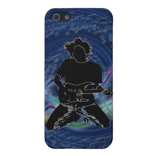 electric guitar Groovy Pern 4 casing Covers For iPhone 5