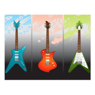 Electric Guitar Lovers Dream Postcard