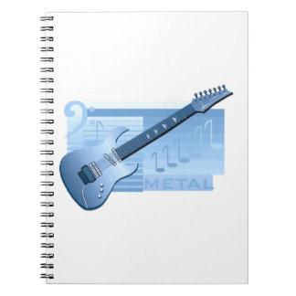 electric guitar metal blue.png notebook