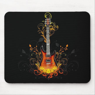 Electric Guitar Mouse Mat
