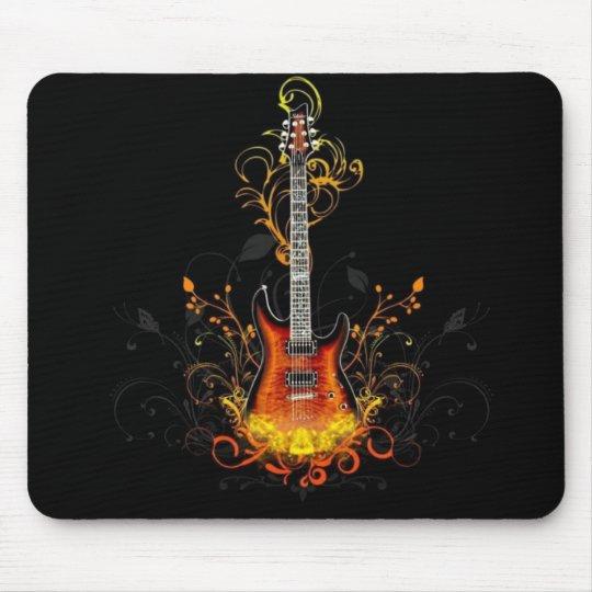 Electric Guitar Mouse Mat