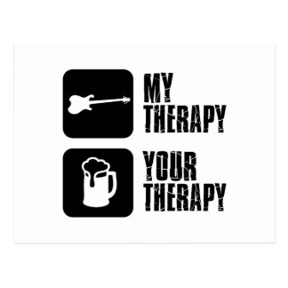 electric-guitar  my therapy postcards