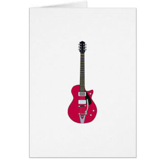Electric Guitar Note Card