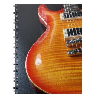 Electric Guitar Notebook