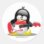 Electric Guitar Penguin