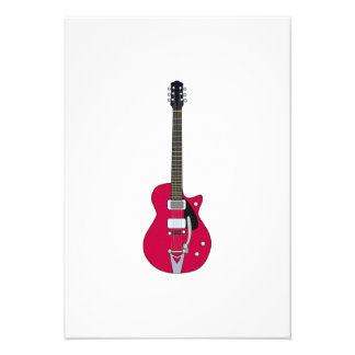 Electric Guitar Personalized Invitations