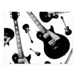 Electric Guitar Post Card