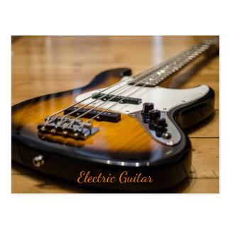 Electric Guitar Postcard