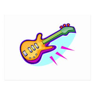 Electric Guitar Postcards