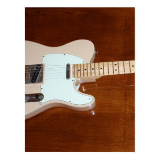 Electric Guitar Post Card