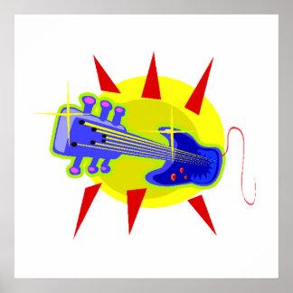 Electric Guitar Print