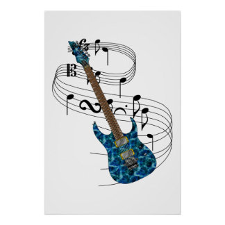Electric Guitar Posters