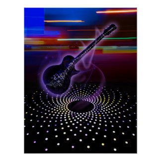 ELECTRIC GUITAR POSTER