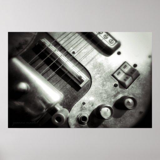 Electric Guitar Poster