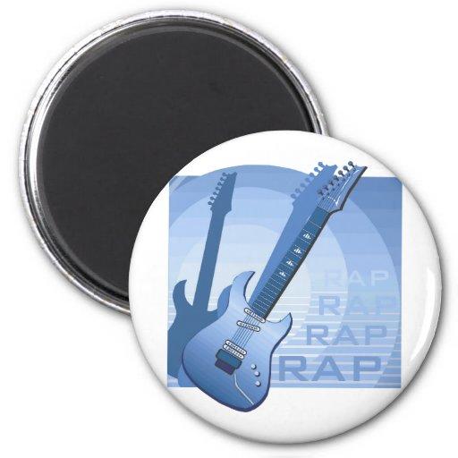 electric guitar rap word music bluue.png magnet