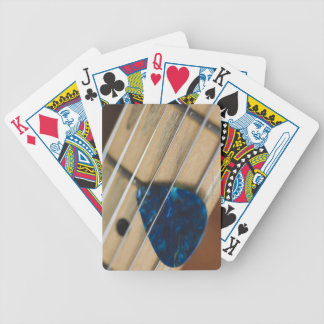 Electric Guitar Strings Bicycle Playing Cards