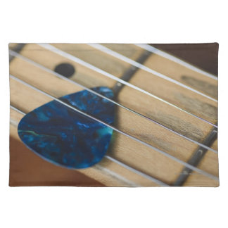 Electric Guitar Strings Placemat