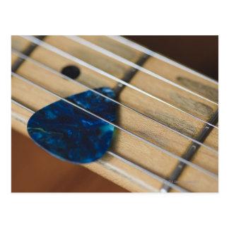 Electric Guitar Strings Postcard