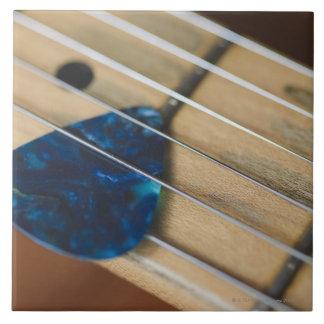 Electric Guitar Strings Tile