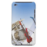 Electric guitars and a drum kit Case-Mate iPod touch case