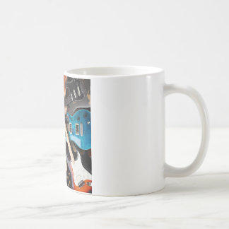 Electric Guitars Concept Coffee Mug