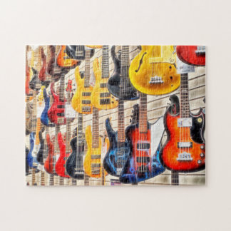 Electric Guitars Jigsaw Puzzle