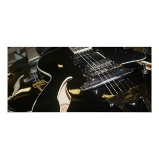 Electric Guitars Print