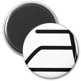 electric iron icon magnet