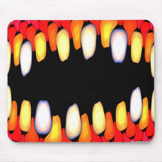 Electric Jaws Mouse Mat