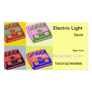 Electric Light Business Cards