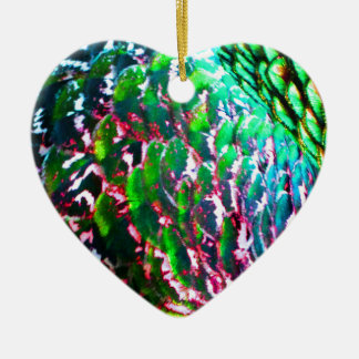 Electric Light Flumes Christmas Ornament
