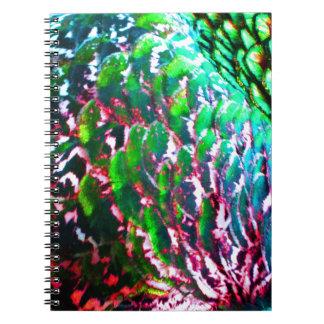 Electric Light Flumes Spiral Notebook