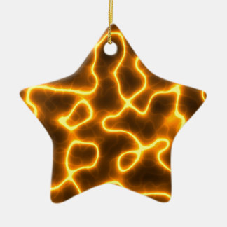 Electric lightning christmas ornament