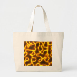 Electric lightning large tote bag