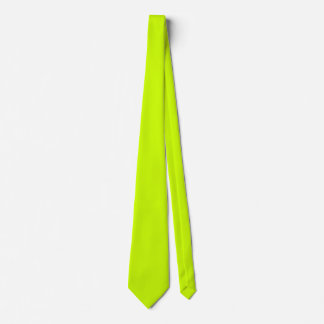 Electric Lime Green Tie