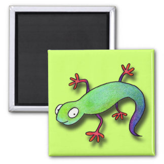 Electric Lizard! Magnet